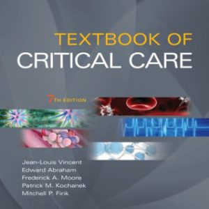 Textbook of Critical Care 7th Ed by Jean Louis Vincent